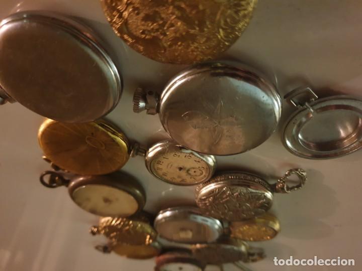 Relojes de bolsillo: LOTE 13 RELOJES BOLSILLO RESTAURAR O PIEZAS - Foto 15 - 153389322