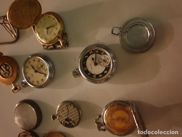 Relojes de bolsillo: LOTE 13 RELOJES BOLSILLO RESTAURAR O PIEZAS - Foto 2 - 153389322