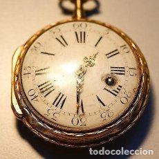 Relojes de bolsillo: ANTIGUO E MPRESIONANTE RELOJ ORO 18 KT CATALINO LLAVE ORO 29600 EUROS UNICO PIEZA LUJO Y MUSEO. Lote 153510174
