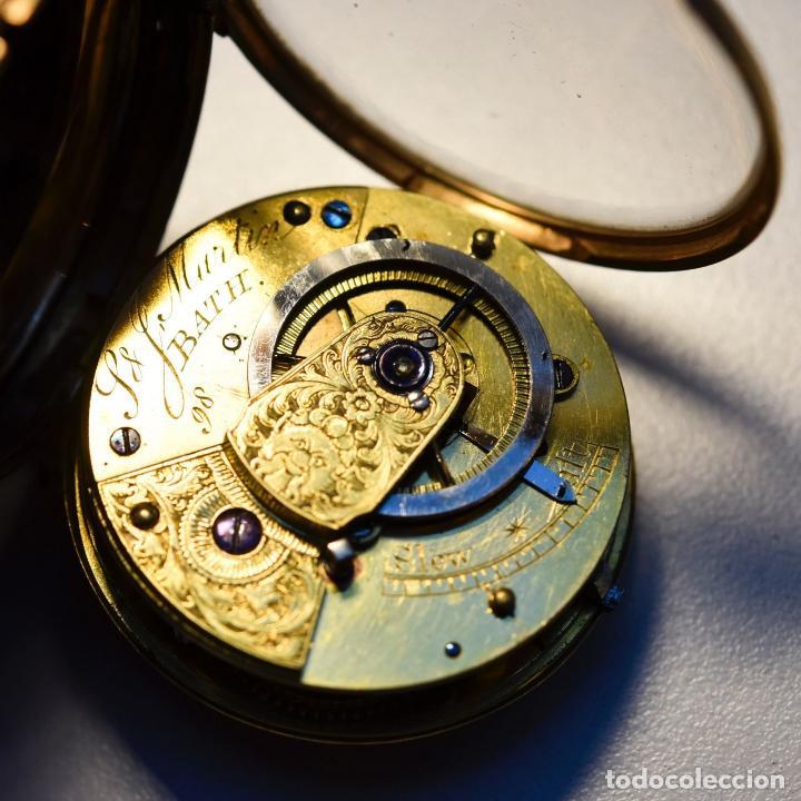 Relojes de bolsillo: ANTIGUO E MPRESIONANTE RELOJ ORO 18 KT CATALINO LLAVE ORO 29600 EUROS UNICO PIEZA LUJO Y MUSEO - Foto 2 - 153510174