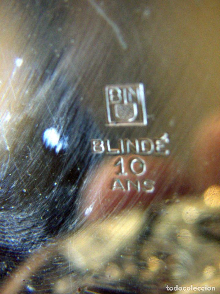 Relojes de bolsillo: RELOJ DE BOLSILLO DE ORO MARCA ALHEUR - Foto 9 - 153561562