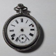 Relojes de bolsillo: ANTIGUO DESCUACE DE RELOJ BOLSILLO. MEDIDA SIN CONTAR LA CUERDA 5 CM. . Lote 153819958