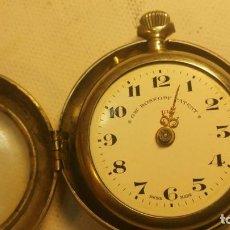 Relojes de bolsillo: RELOJ GRE ROSKOPF PATENT 1ª SWISS MADE - CON ESTUCHE - FUNCIONA JL-9. Lote 153886330