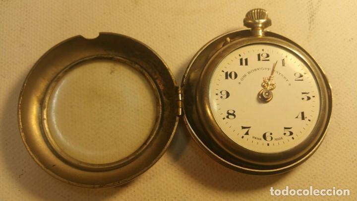 Relojes de bolsillo: RELOJ GRE ROSKOPF PATENT 1ª SWISS MADE - CON ESTUCHE - FUNCIONA JL-9 - Foto 2 - 153886330