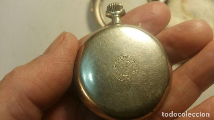 Relojes de bolsillo: RELOJ GRE ROSKOPF PATENT 1ª SWISS MADE - CON ESTUCHE - FUNCIONA JL-9 - Foto 4 - 153886330