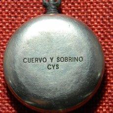 Relojes de bolsillo: CUERVO Y SOBRINO – CYS – CAJA – CON MARCAJES – 40 MM. Lote 153901366