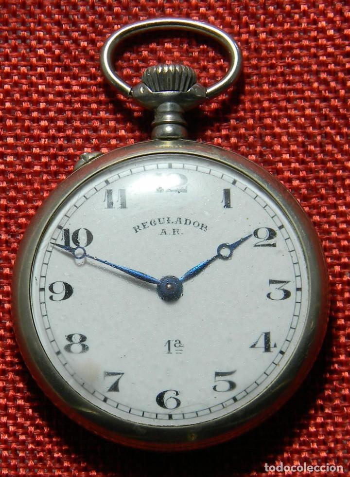 ANTIGUO RELOJ LEPINE MARCA REGULADOR A.R. 1ª – SWISS - 45 MM DIAMETRO - (Relojes - Bolsillo Carga Manual)