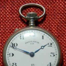 Relojes de bolsillo: ANTIGUO RELOJ LEPINE MARCA REGULADOR A.R. 1ª – SWISS - 45 MM DIAMETRO - . Lote 153901394
