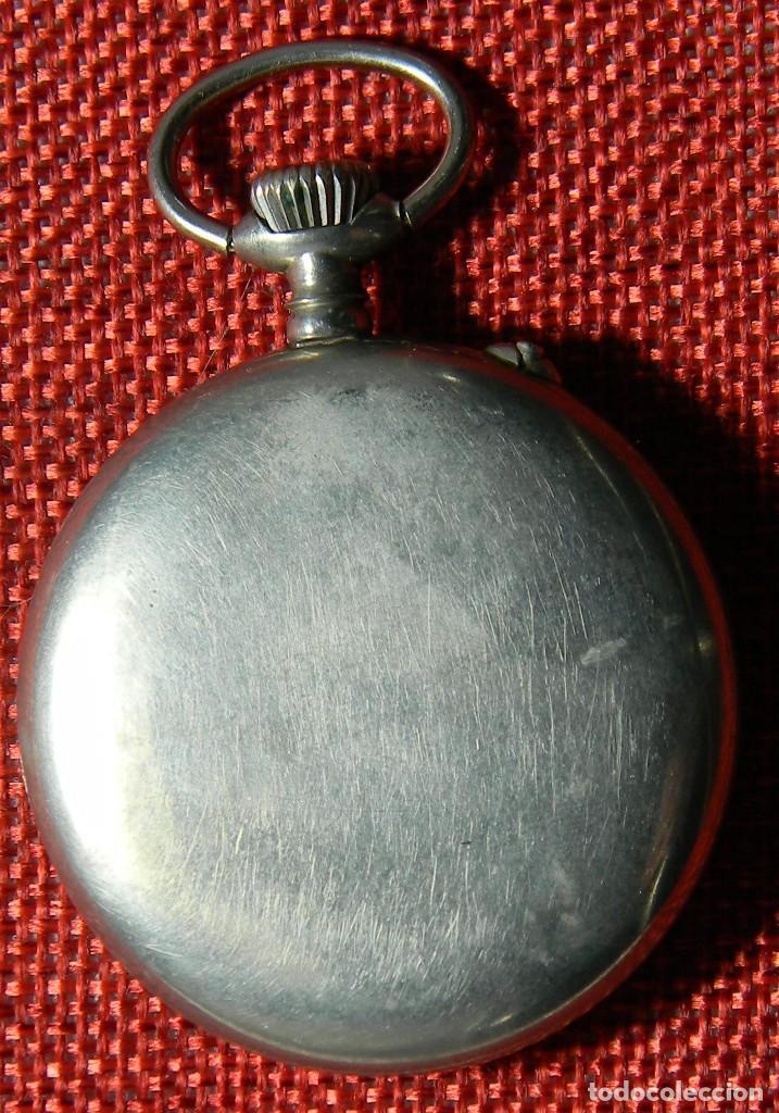 Relojes de bolsillo: Antiguo reloj Lepine marca Regulador A.R. 1ª – Swiss - 45 mm diametro - - Foto 4 - 153901394