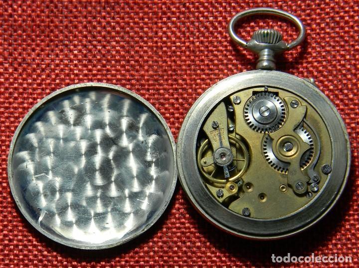 Relojes de bolsillo: Antiguo reloj Lepine marca Regulador A.R. 1ª – Swiss - 45 mm diametro - - Foto 5 - 153901394