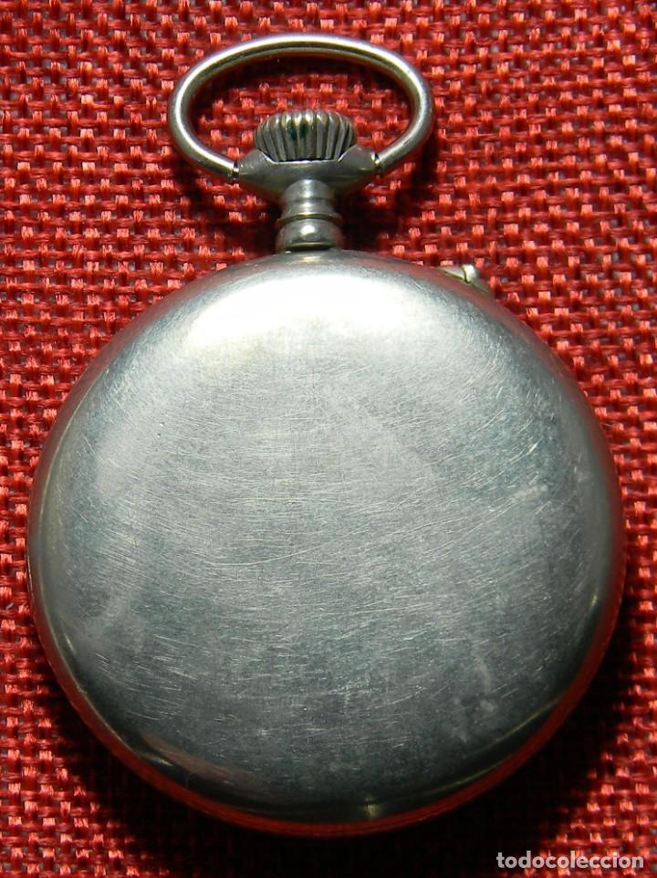 Relojes de bolsillo: Antiguo reloj Lepine marca Regulador A.R. 1ª – Swiss - 45 mm diametro - - Foto 7 - 153901394