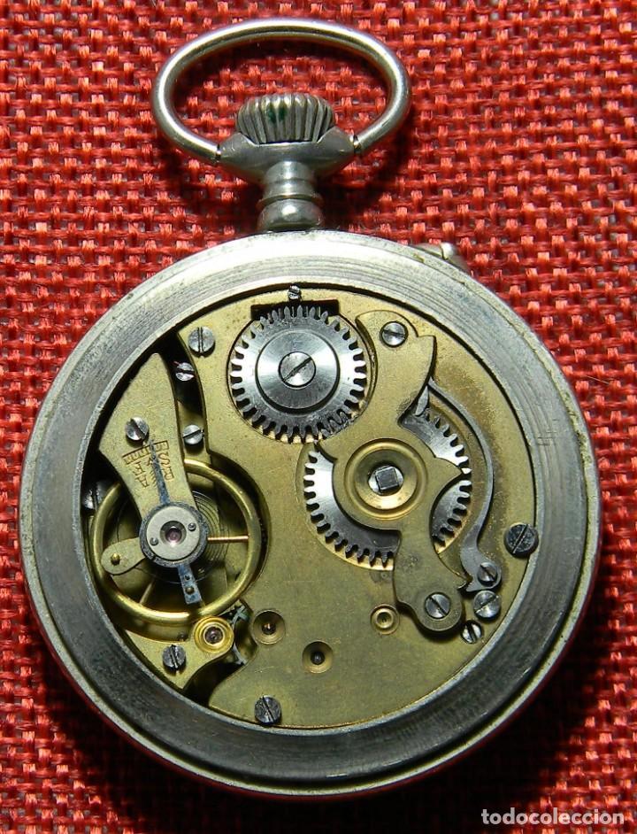 Relojes de bolsillo: Antiguo reloj Lepine marca Regulador A.R. 1ª – Swiss - 45 mm diametro - - Foto 8 - 153901394