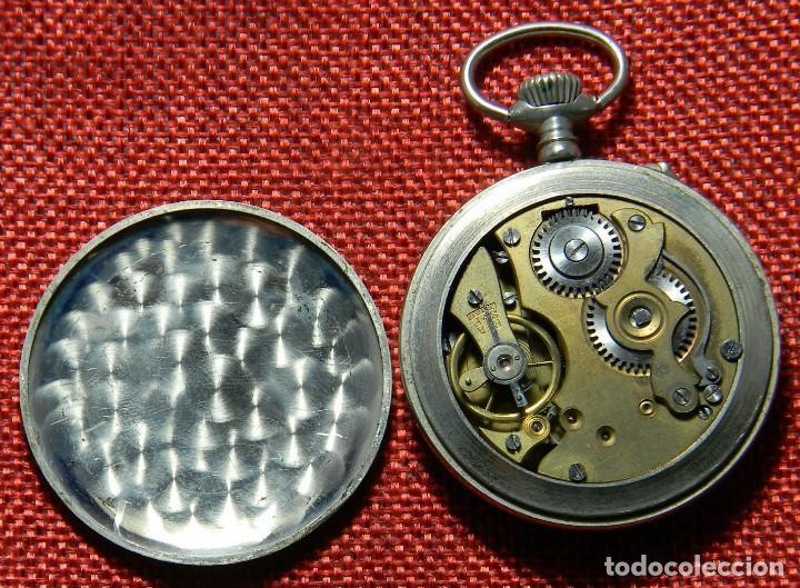 Relojes de bolsillo: Antiguo reloj Lepine marca Regulador A.R. 1ª – Swiss - 45 mm diametro - - Foto 9 - 153901394