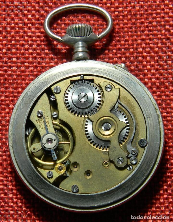 Relojes de bolsillo: Antiguo reloj Lepine marca Regulador A.R. 1ª – Swiss - 45 mm diametro - - Foto 10 - 153901394