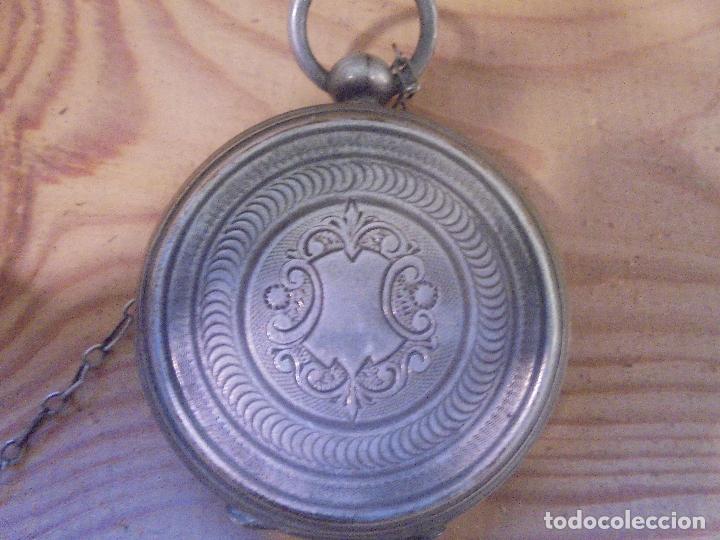 Relojes de bolsillo: Reloj de plata - Foto 13 - 109002591