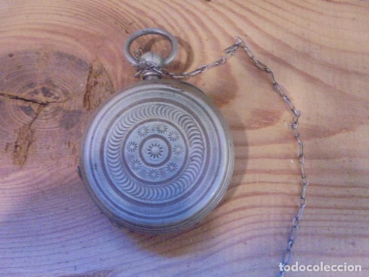Relojes de bolsillo: Reloj de plata - Foto 14 - 109002591