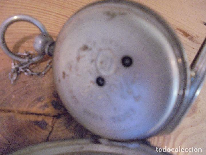 Relojes de bolsillo: Reloj de plata - Foto 17 - 109002591