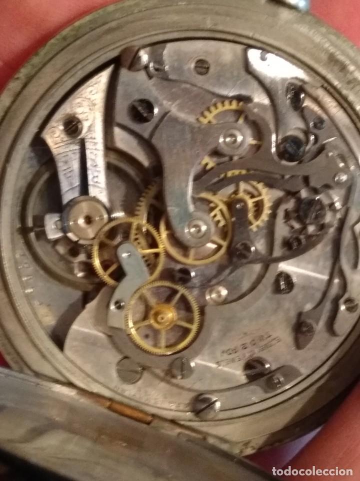Relojes de bolsillo: Cronógrafo AR&J. MEYLAN (funciona) - Foto 10 - 154142402