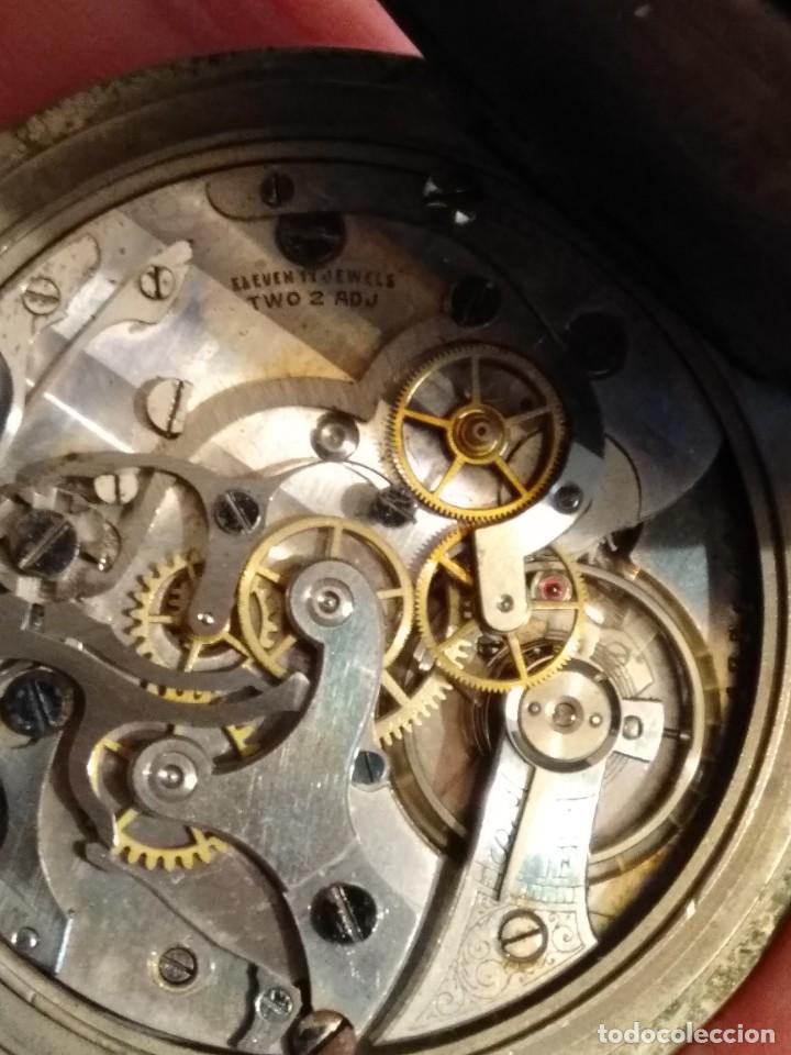 Relojes de bolsillo: Cronógrafo AR&J. MEYLAN (funciona) - Foto 11 - 154142402
