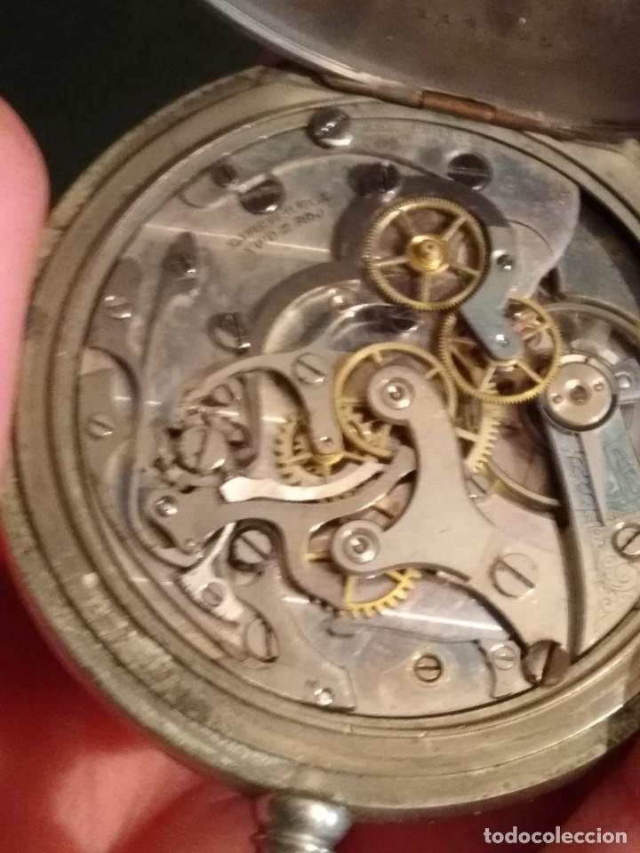 Relojes de bolsillo: Cronógrafo AR&J. MEYLAN (funciona) - Foto 12 - 154142402