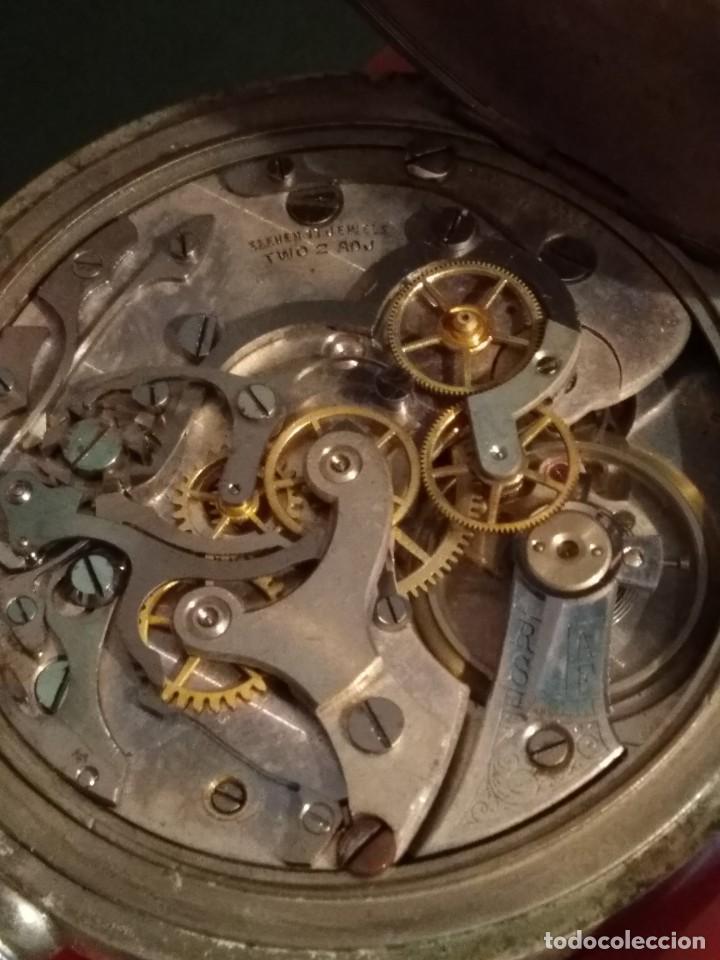 Relojes de bolsillo: Cronógrafo AR&J. MEYLAN (funciona) - Foto 13 - 154142402