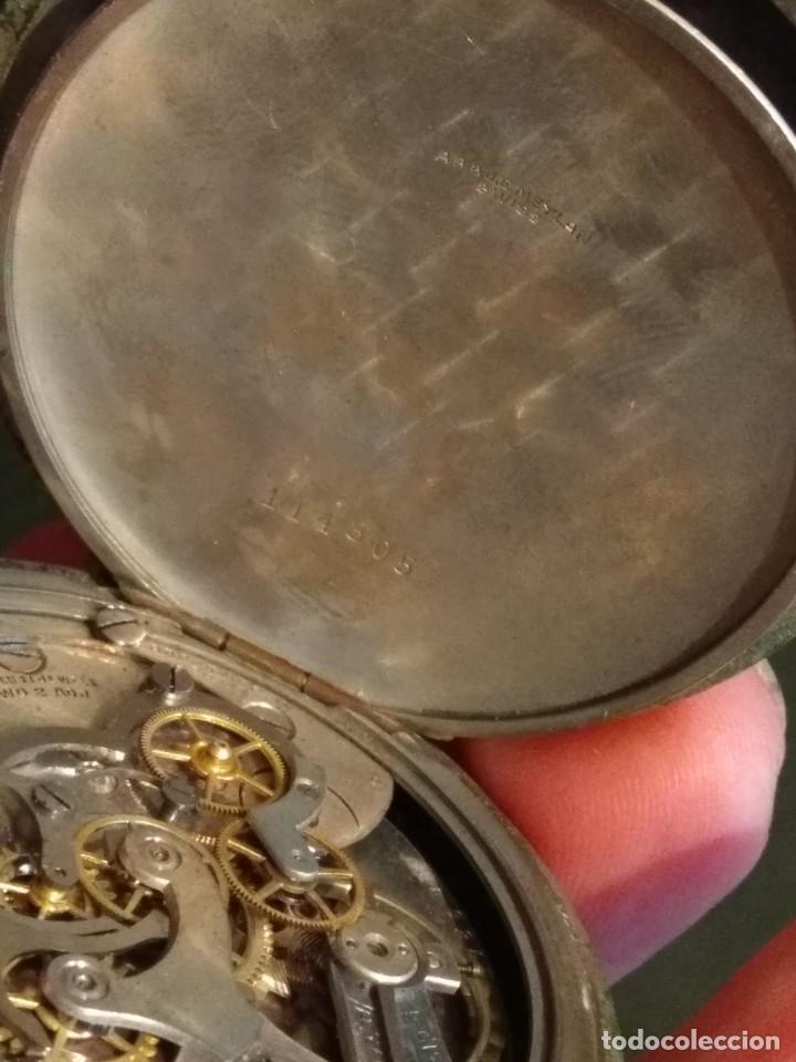 Relojes de bolsillo: Cronógrafo AR&J. MEYLAN (funciona) - Foto 14 - 154142402