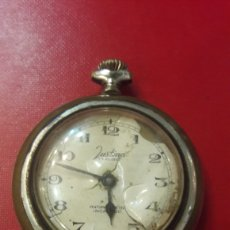 Relojes de bolsillo: RELOG BOLSILLO JUSTINA 17 RUBIS NECESITA REVISION. Lote 154247204