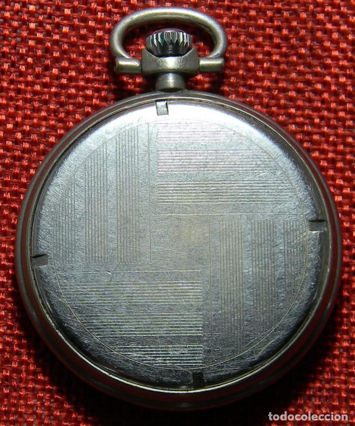 Relojes de bolsillo: Antiguo reloj de caballero. Años 50 - Marca Almo - Diametro 48 mm - - Foto 4 - 154483046