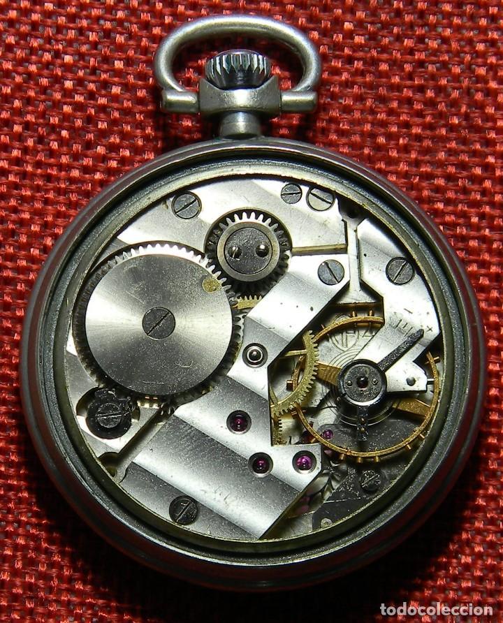Relojes de bolsillo: Antiguo reloj de caballero. Años 50 - Marca Almo - Diametro 48 mm - - Foto 5 - 154483046