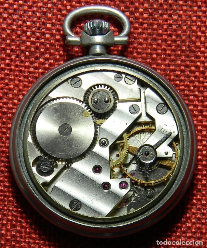Relojes de bolsillo: Antiguo reloj de caballero. Años 50 - Marca Almo - Diametro 48 mm - - Foto 6 - 154483046