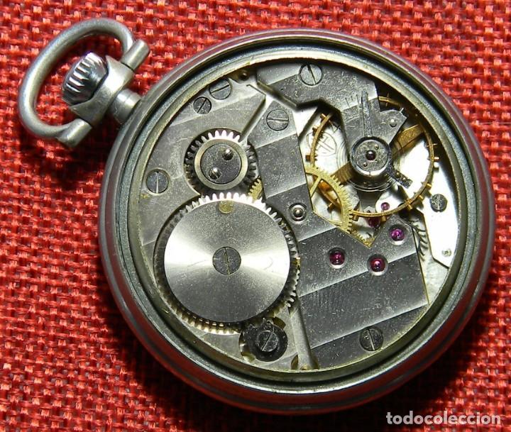 Relojes de bolsillo: Antiguo reloj de caballero. Años 50 - Marca Almo - Diametro 48 mm - - Foto 7 - 154483046