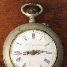 Relojes de bolsillo: RELOJ DE BOLSILLO LA JAPONESA. PARA DESPIECE, NO FUNCIONA. Lote 154643606