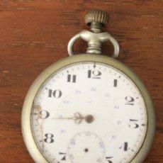 Relojes de bolsillo: RELOJ DE BOLSILLO DEPOSE ARGENTAN. PARA DESPIECE, NO FUNCIONA. Lote 154644604