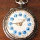 Relojes de bolsillo: RELOJ DE BOLSILLO ANDURIÑA. SWISS MADE. HECHO EN SUIZA. PARA DESPIECE, NO FUNCIONA. Lote 154647598