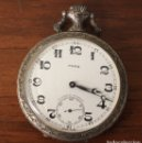 Relojes de bolsillo: RELOJ DE BOLSILLO PARA 17 JEWELS INCABLOC. SWISS MADE. HECHO EN SUIZA. FUNCIONA. Lote 154648436