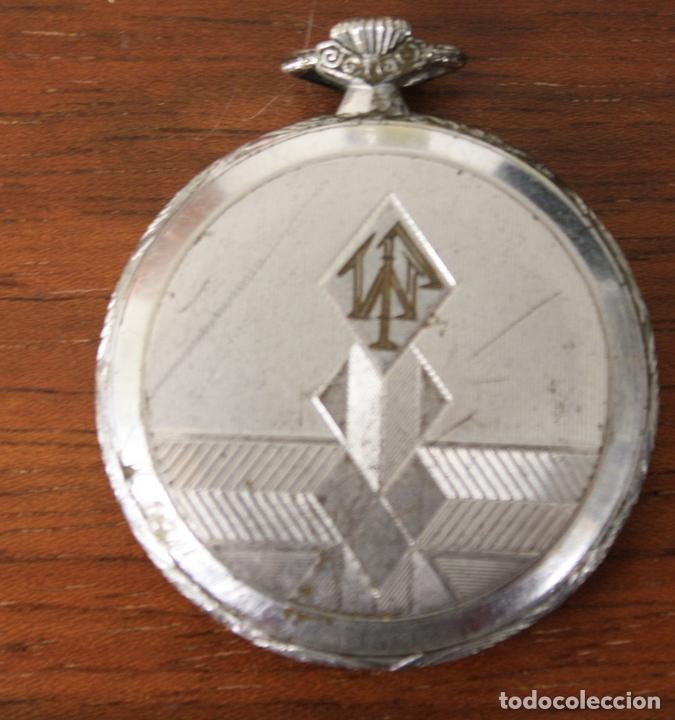 Relojes de bolsillo: RELOJ DE BOLSILLO KAHN. NO FUNCIONA, PARA DESPIECE - Foto 2 - 154649290