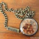 Relojes de bolsillo: RELOJ DE BOLSILLO KRONE ANTIMAGNETIC. NO FUNCIONA, PARA DESPIECE. Lote 154650940