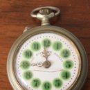 Relojes de bolsillo: RELOJ DE BOLSILLO ROSKOPF. SWISS MADE. HECHO EN SUIZA. FUNCIONA, SUENA CUERDA. Lote 154770126