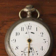 Relojes de bolsillo: RELOJ DE BOLSILLO VICTORIA. NO FUNCIONA, PARA DESPIECE. Lote 154770737