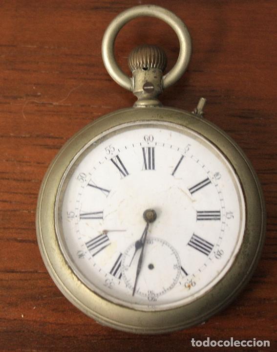 RELOJ DE BOLSILLO. NO FUNCIONA, PARA DESPIECE (Relojes - Bolsillo Carga Manual)