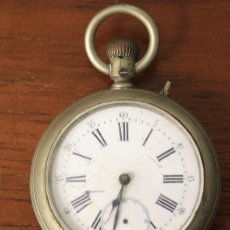 Relojes de bolsillo: RELOJ DE BOLSILLO. NO FUNCIONA, PARA DESPIECE. Lote 154772024