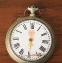 Relojes de bolsillo: RELOJ DE BOLSILLO CRONOMETRO 1ª VERDAD. NO FUNCIONA, PARA DESPIECE. Lote 154772762