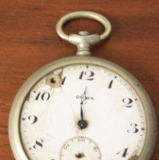 Relojes de bolsillo: RELOJ DE BOLSILLO CYMA. NO FUNCIONA, PARA DESPIECE. Lote 154773885