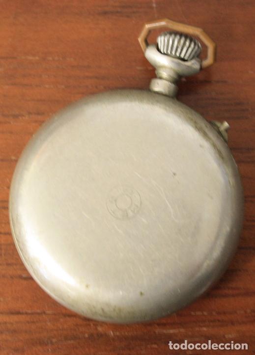 Relojes de bolsillo: RELOJ DE BOLSILLO META. NO FUNCIONA, PARA DESPIECE - Foto 2 - 154774956