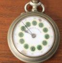 Relojes de bolsillo: RELOJ DE BOLSILLO ROSKOPF. SUENA CUERDA. Lote 154775266
