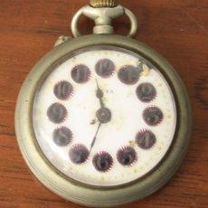 Relojes de bolsillo: RELOJ DE BOLSILLO META. NO FUNCIONA, PARA DESPIECE. Lote 154777018