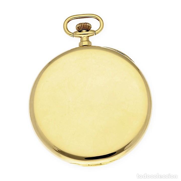 Relojes de bolsillo: RELOJ DE BOLSILLO VINTAGE MOVADO DE ORO 18K CUERDA MANUAL - Foto 4 - 154822570