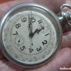 Relojes de bolsillo: PRECIOSO RELOJ CRONOGRAFO DE BOLSILLO ART DECO DE LA MARCA LIP, DE LOS AÑOS 20, FUNCIONANDO PERFECTO. Lote 154843986