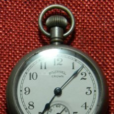 Relojes de bolsillo: ANTIGUO RELOJ LEPINE - MARCA INGERSOLL CROWN - MADE IN USA - AÑOS 50 - 50 MM DIAMETRO. Lote 154974102