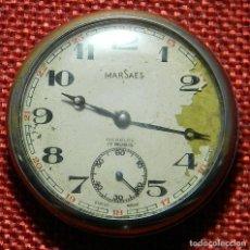 Relojes de bolsillo: ANTIGUO RELOJ LEPINE - MARCA MARSAES INCABLOC - SWISS - 15 RUBIS - AÑOS 50 - 43 MM DIAMETRO. Lote 154974382